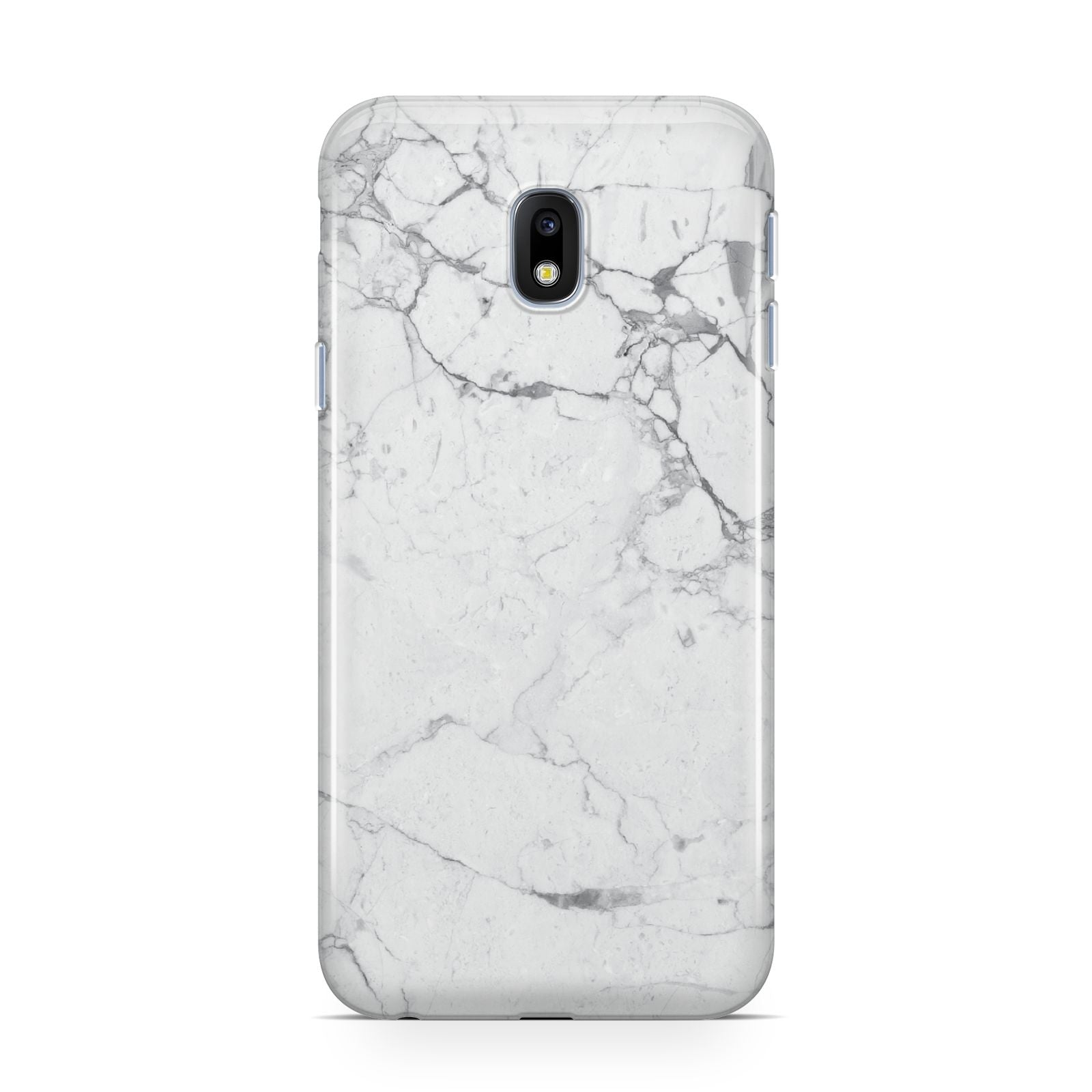 Faux Marble Effect Grey White Samsung Galaxy J3 2017 Case