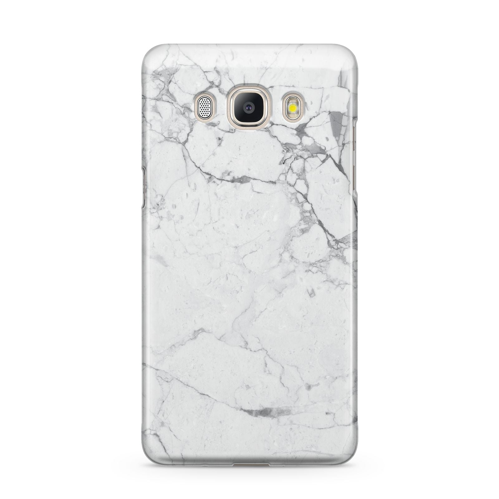 Faux Marble Effect Grey White Samsung Galaxy J5 2016 Case