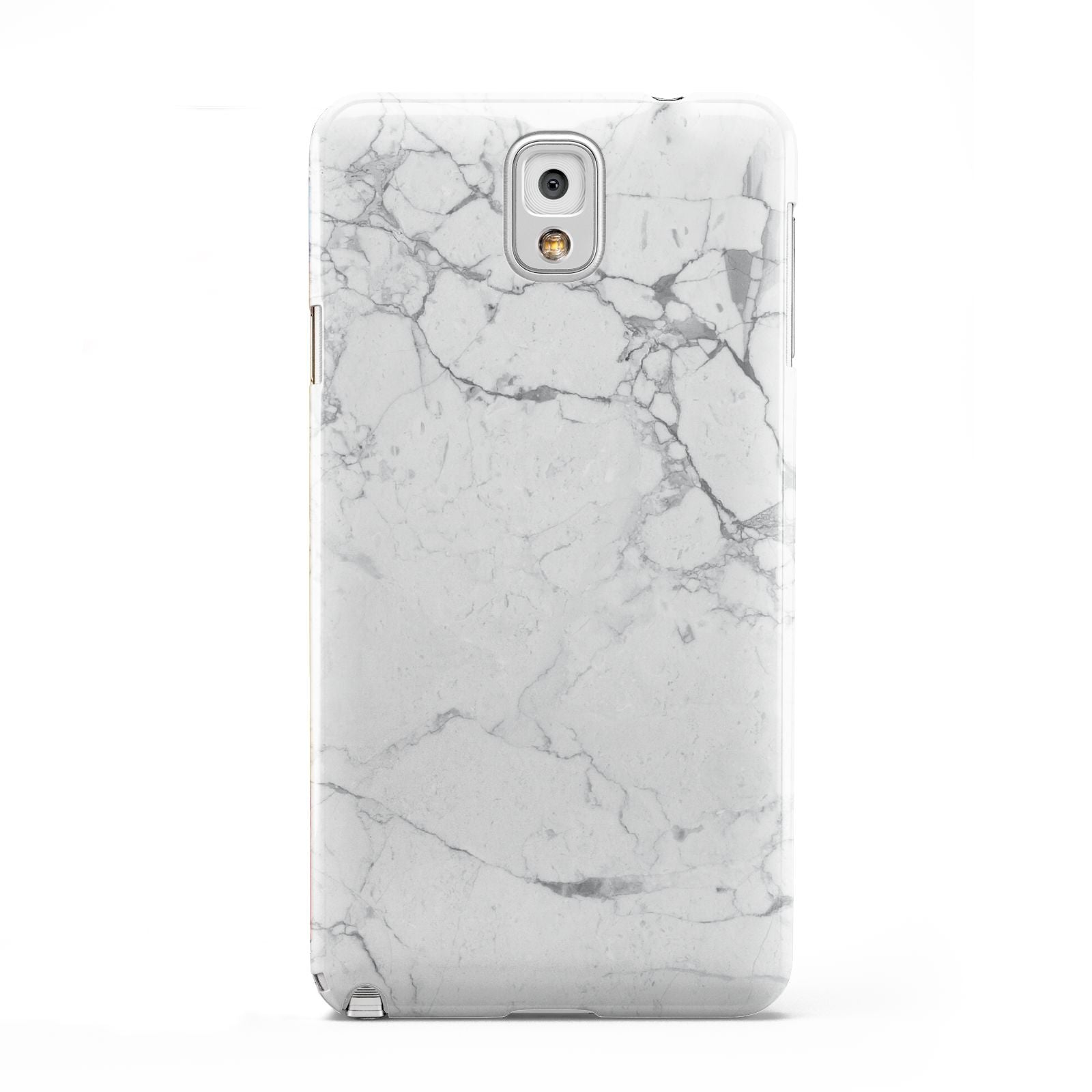 Faux Marble Effect Grey White Samsung Galaxy Note 3 Case