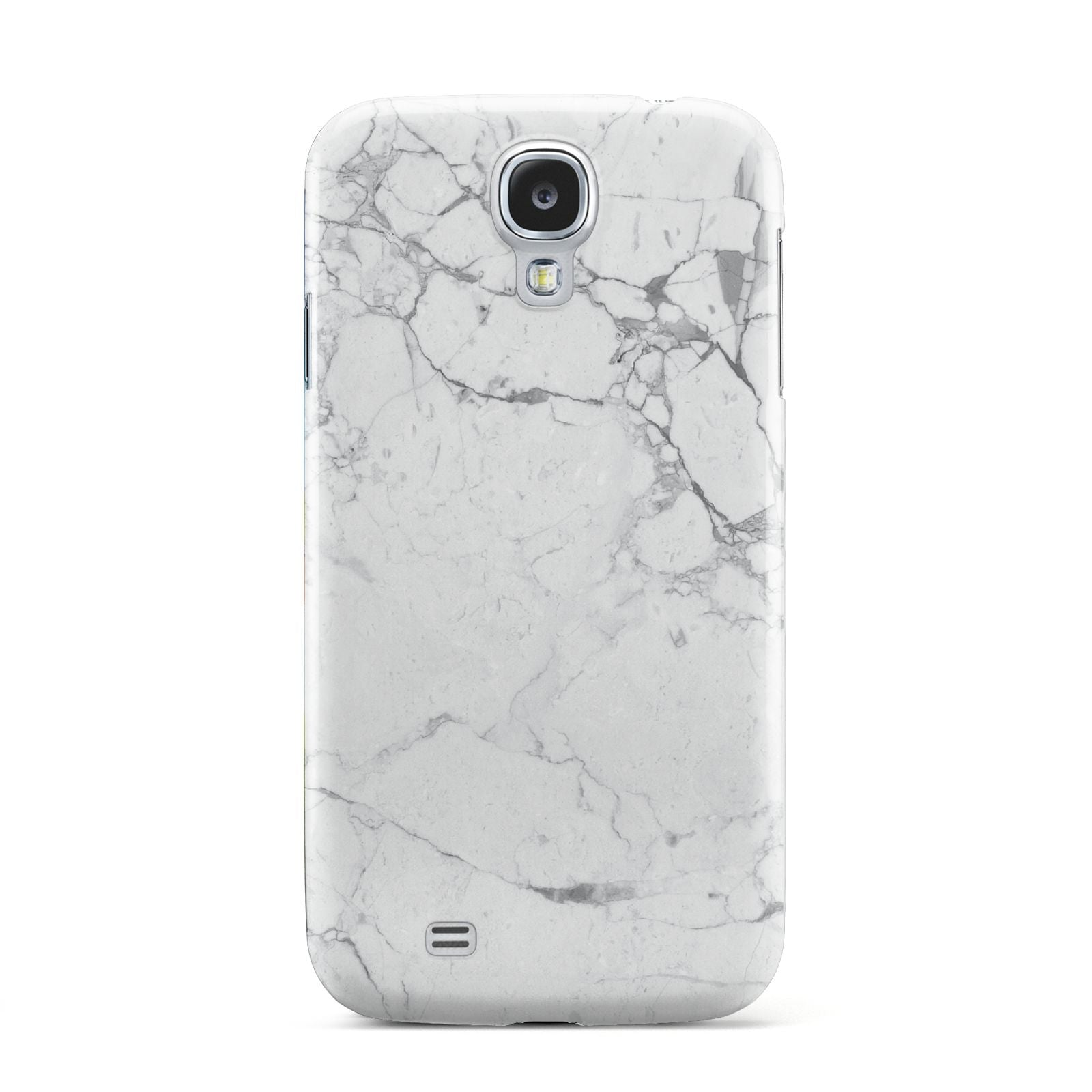 Faux Marble Effect Grey White Samsung Galaxy S4 Case
