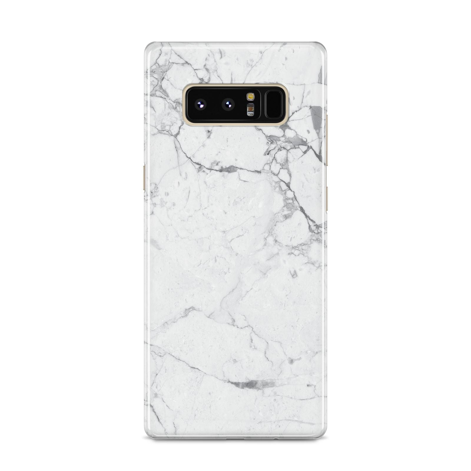 Faux Marble Effect Grey White Samsung Galaxy S8 Case