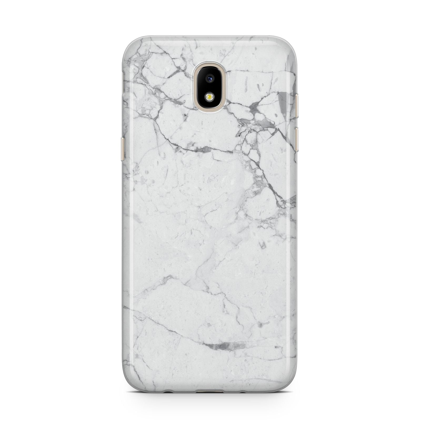 Faux Marble Effect Grey White Samsung J5 2017 Case