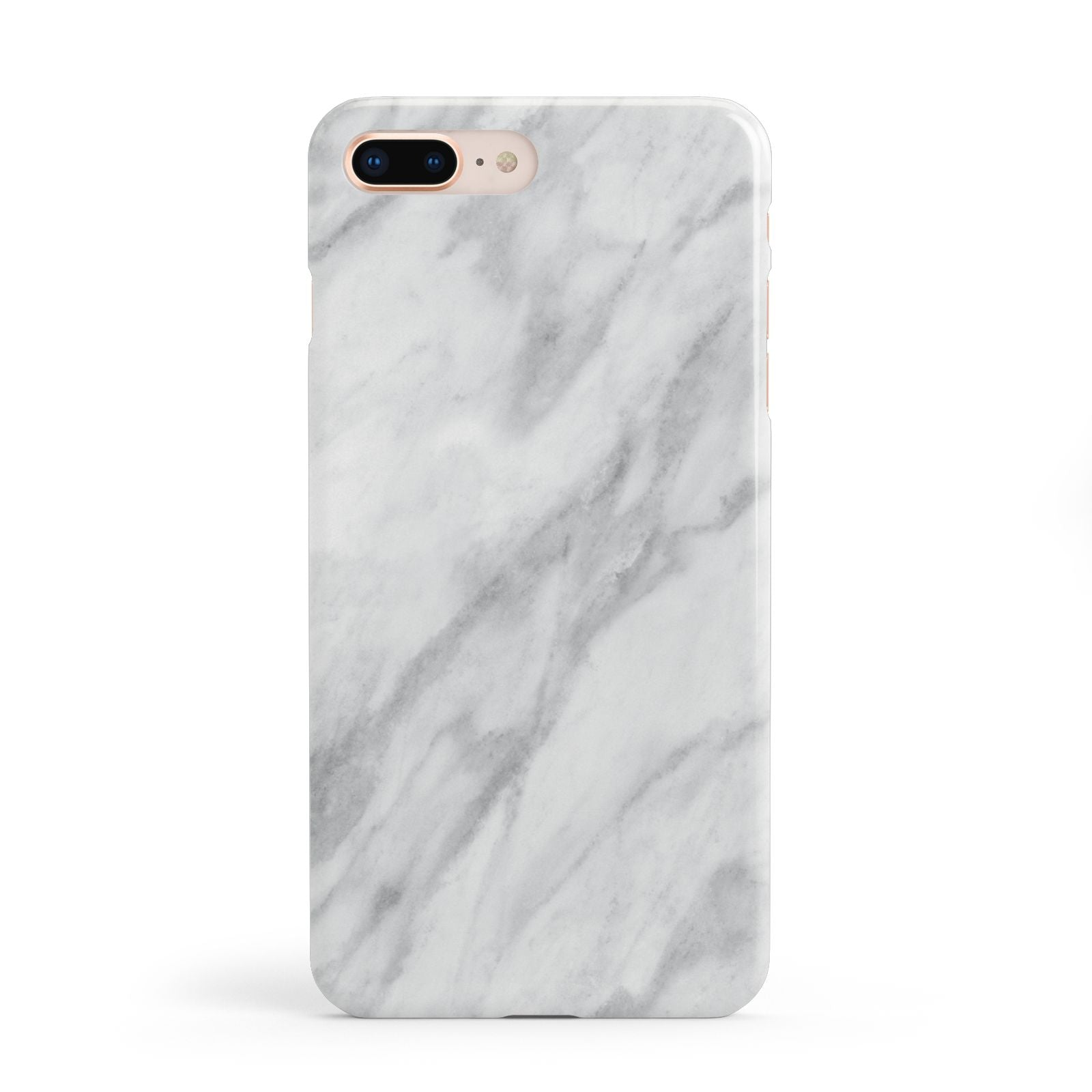 Faux Marble Effect Italian Apple iPhone 8 Plus Case