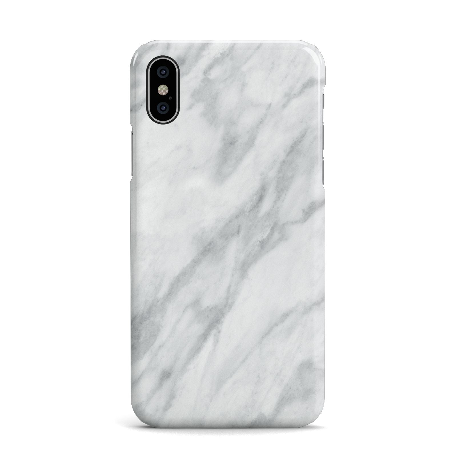Faux Marble Effect Italian Apple iPhone X Case