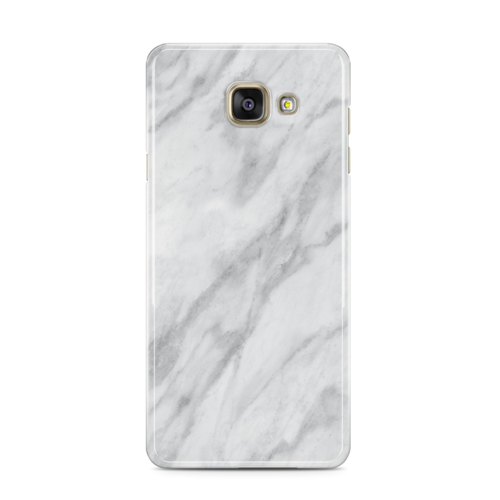 Faux Marble Effect Italian Samsung Galaxy A3 2016 Case on gold phone
