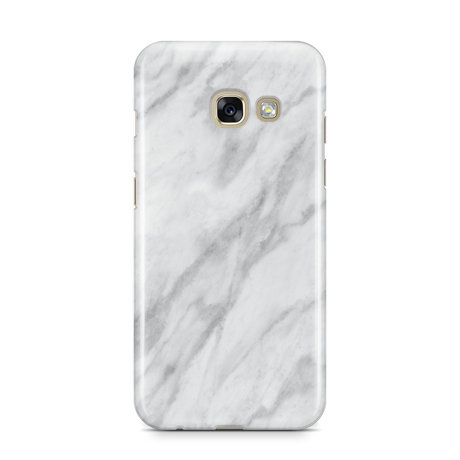 Faux Marble Effect Italian Samsung Galaxy A3 2017 Case on gold phone