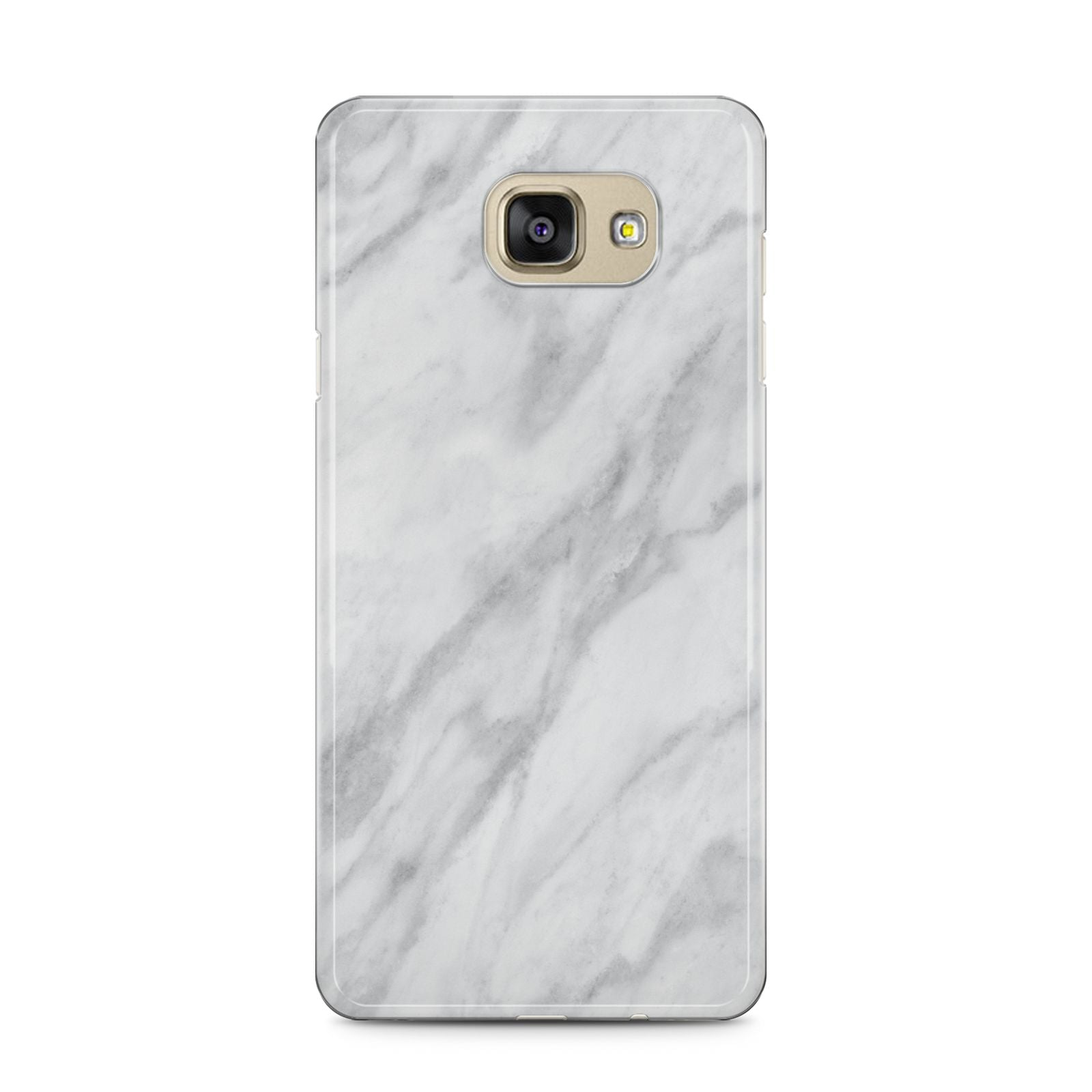 Faux Marble Effect Italian Samsung Galaxy A5 2016 Case on gold phone