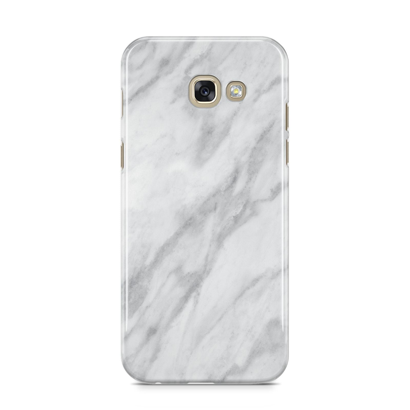 Faux Marble Effect Italian Samsung Galaxy A5 2017 Case on gold phone
