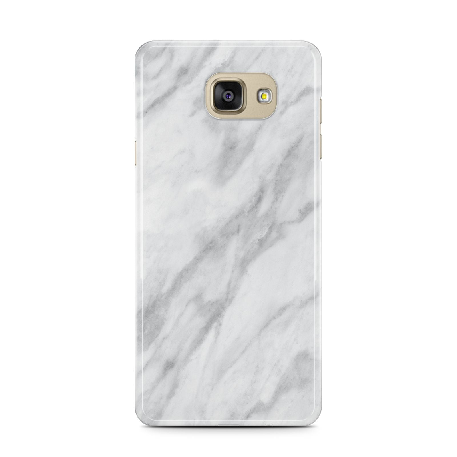 Faux Marble Effect Italian Samsung Galaxy A7 2016 Case on gold phone