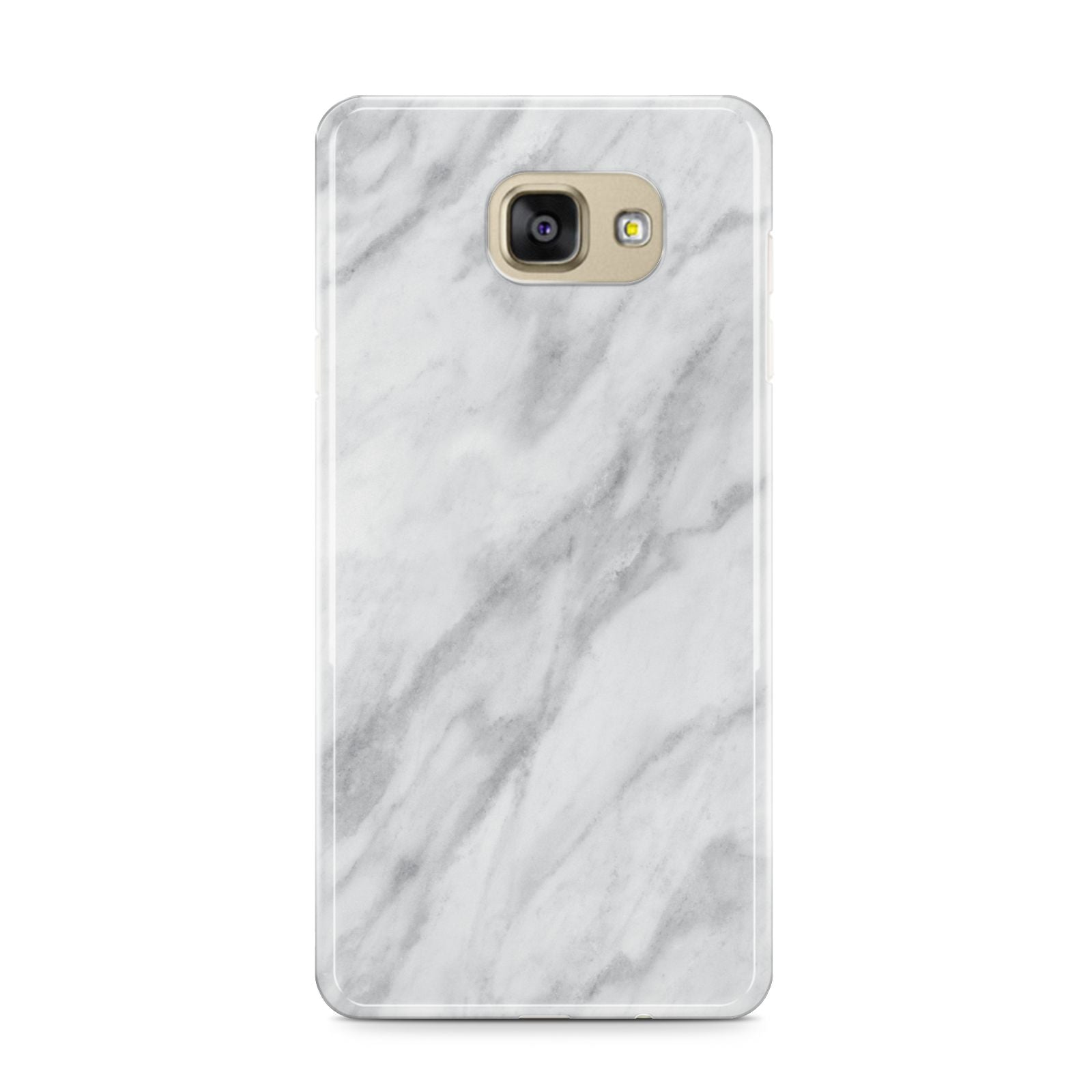 Faux Marble Effect Italian Samsung Galaxy A9 2016 Case on gold phone