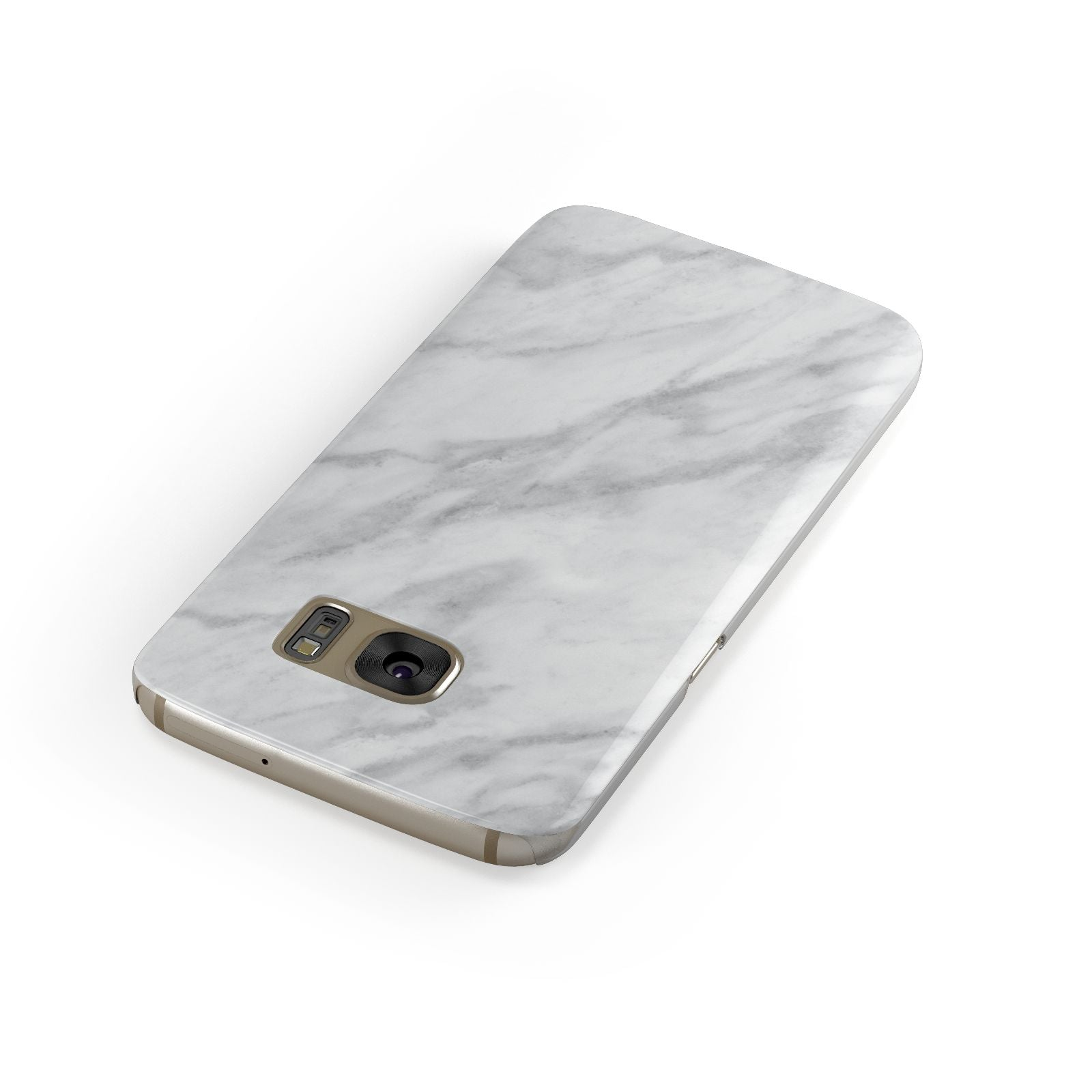 Faux Marble Effect Italian Samsung Galaxy Case Front Close Up
