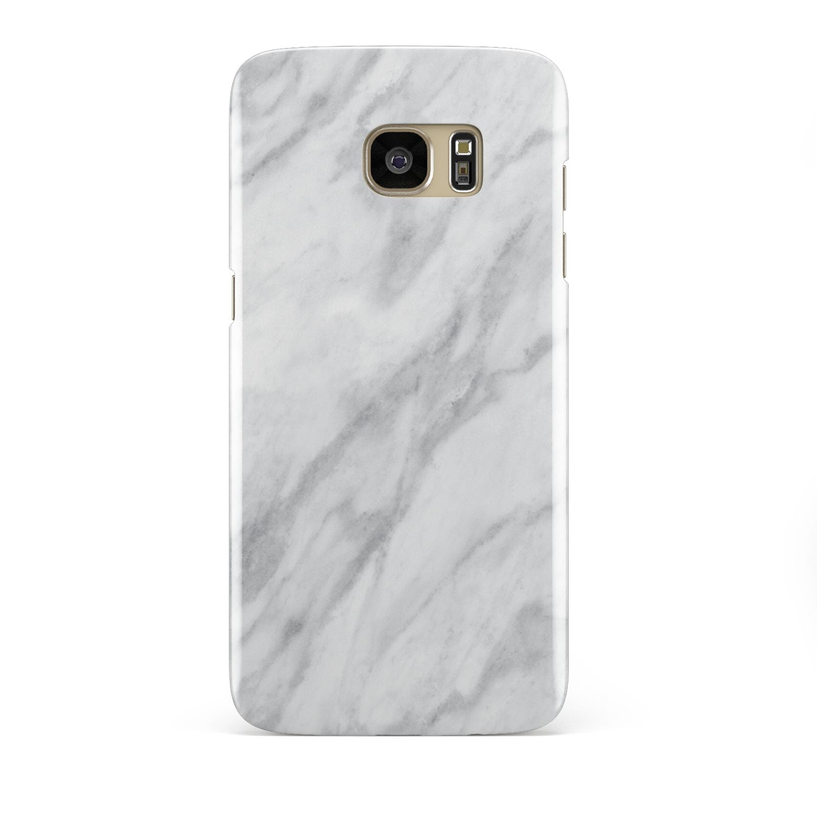 Faux Marble Effect Italian Samsung Galaxy S7 Edge Case