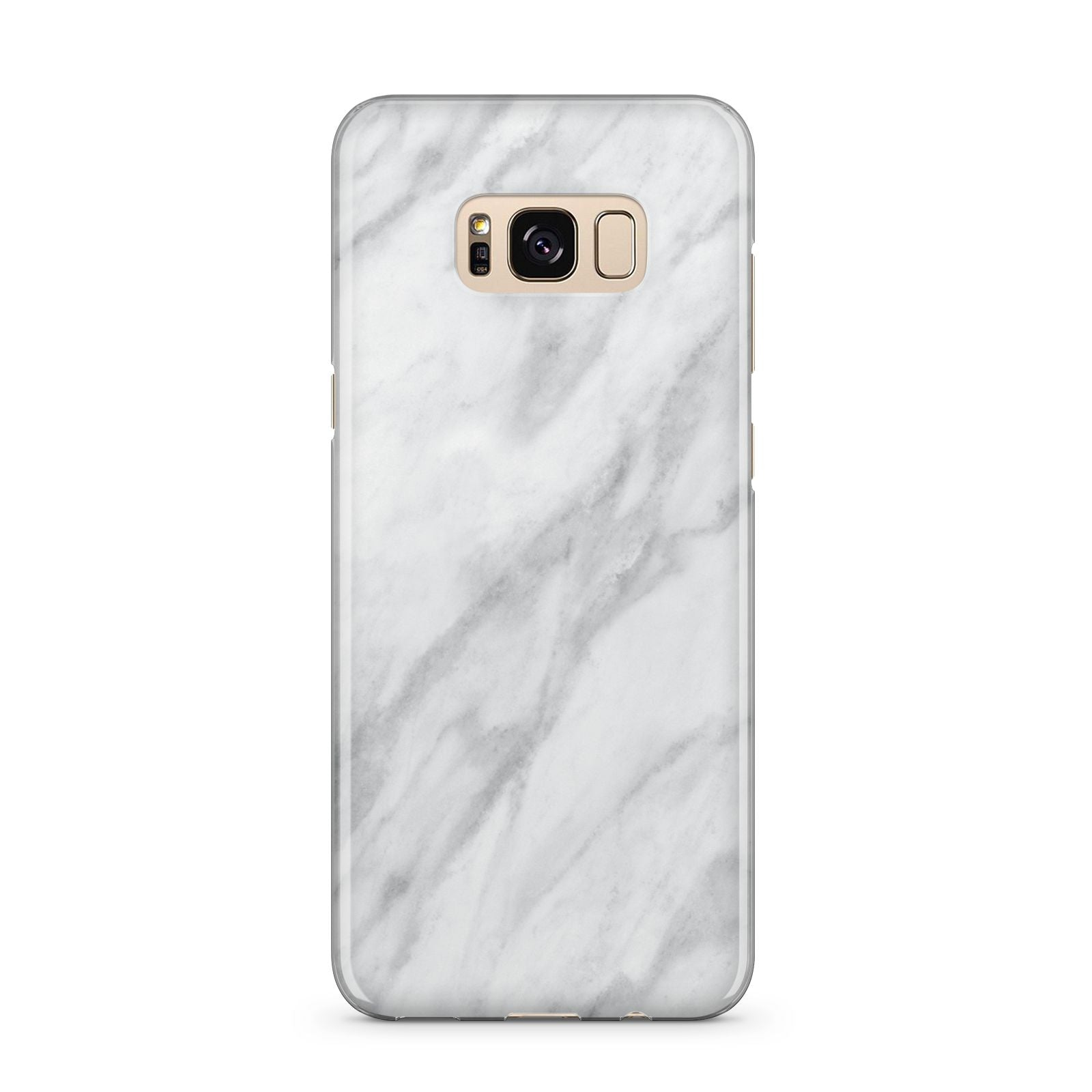 Faux Marble Effect Italian Samsung Galaxy S8 Plus Case
