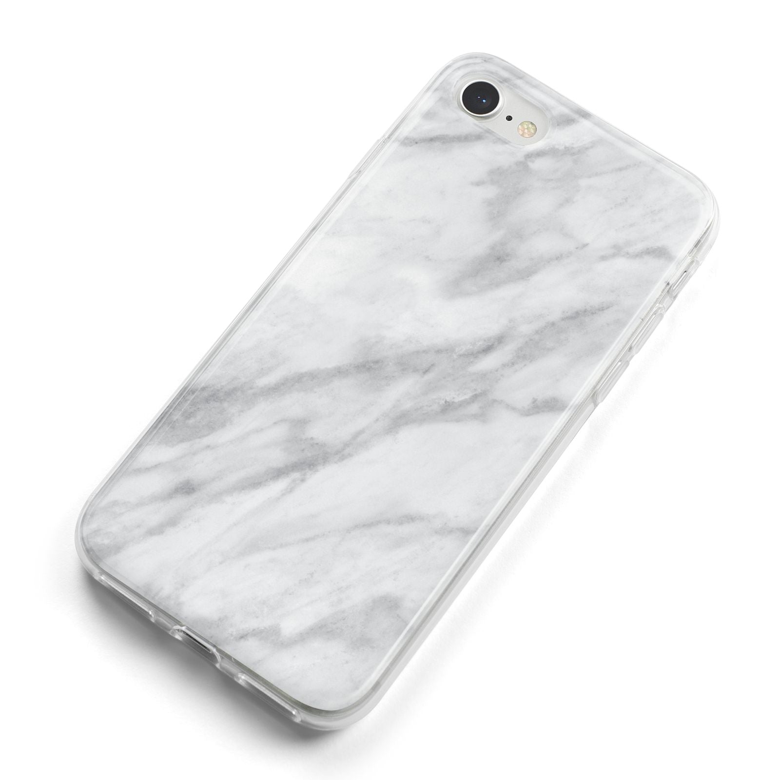Faux Marble Effect Italian iPhone 8 Bumper Case on Silver iPhone Alternative Image