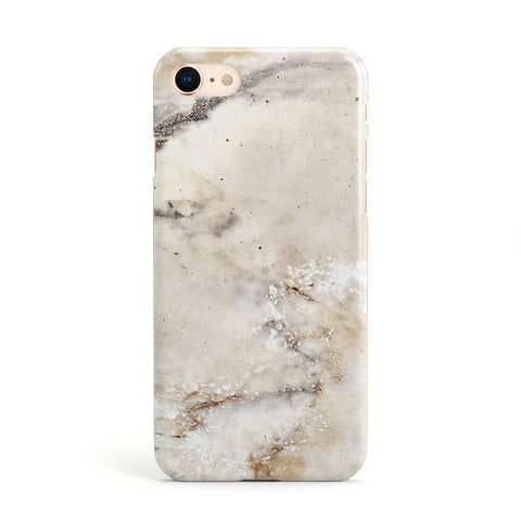 Faux Marble Effect Print Apple iPhone Case
