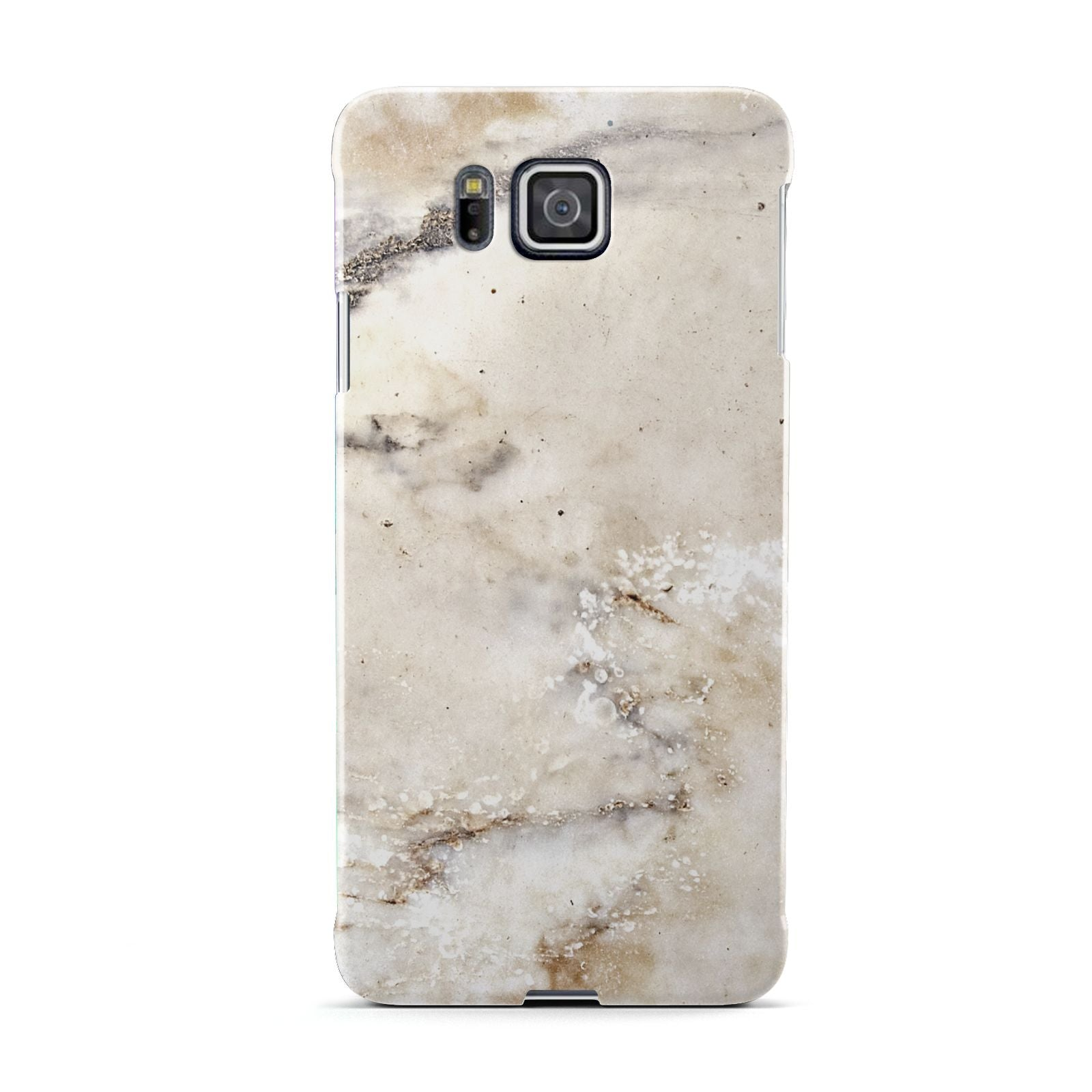 Faux Marble Effect Print Samsung Galaxy Alpha Case
