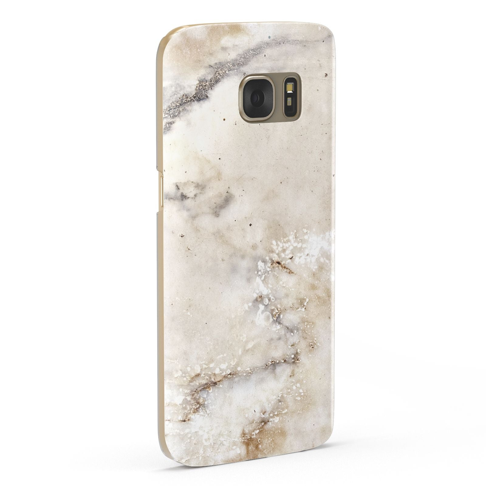 Faux Marble Effect Print Samsung Galaxy Case Fourty Five Degrees