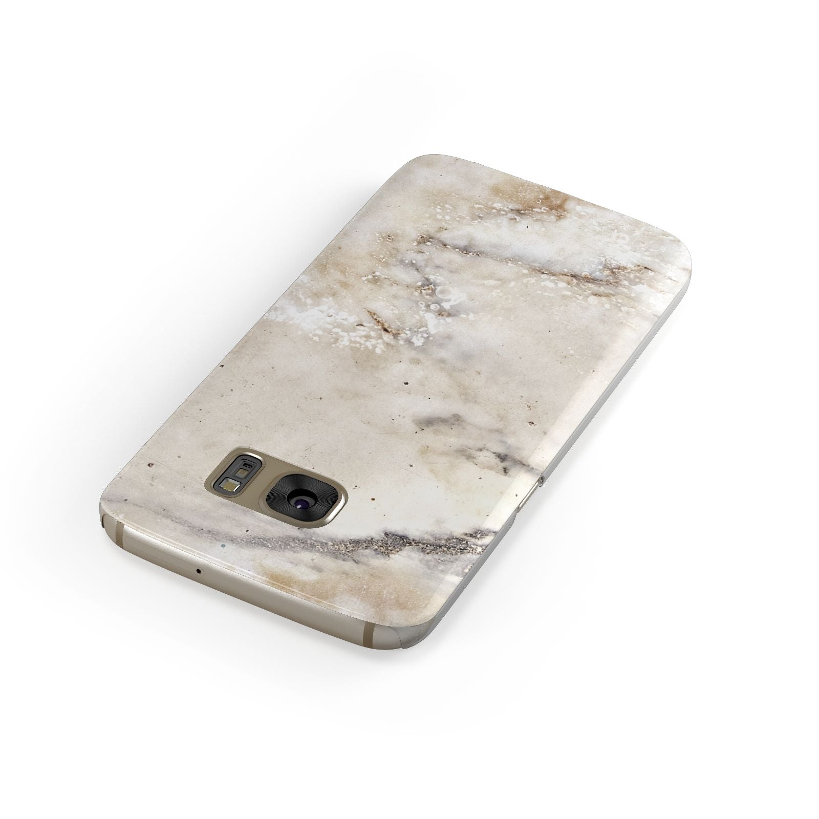 Faux Marble Effect Print Samsung Galaxy Case Front Close Up