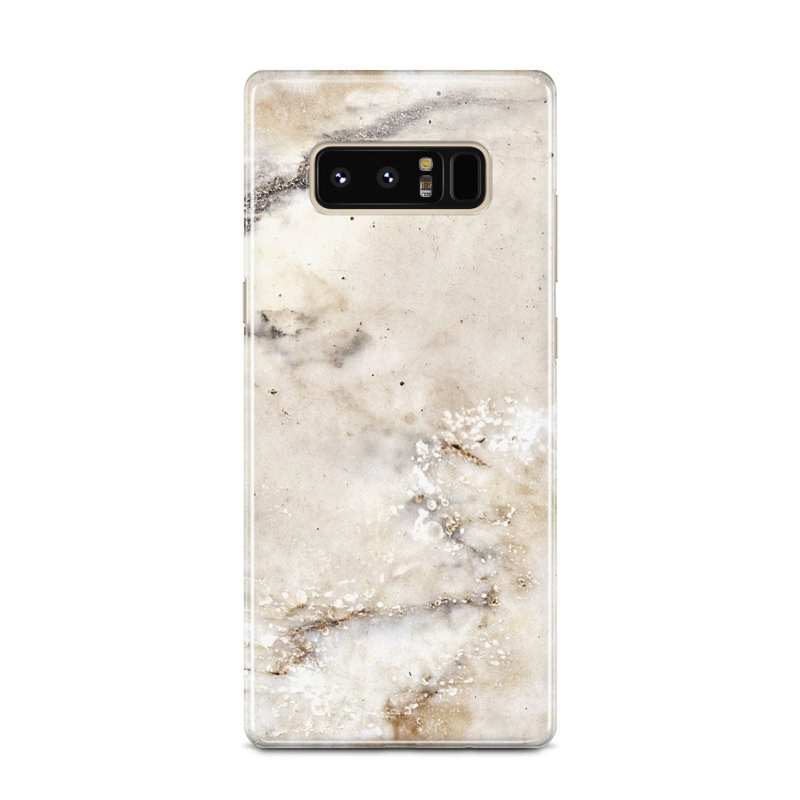 Faux Marble Effect Print Samsung Galaxy Note 8 Case