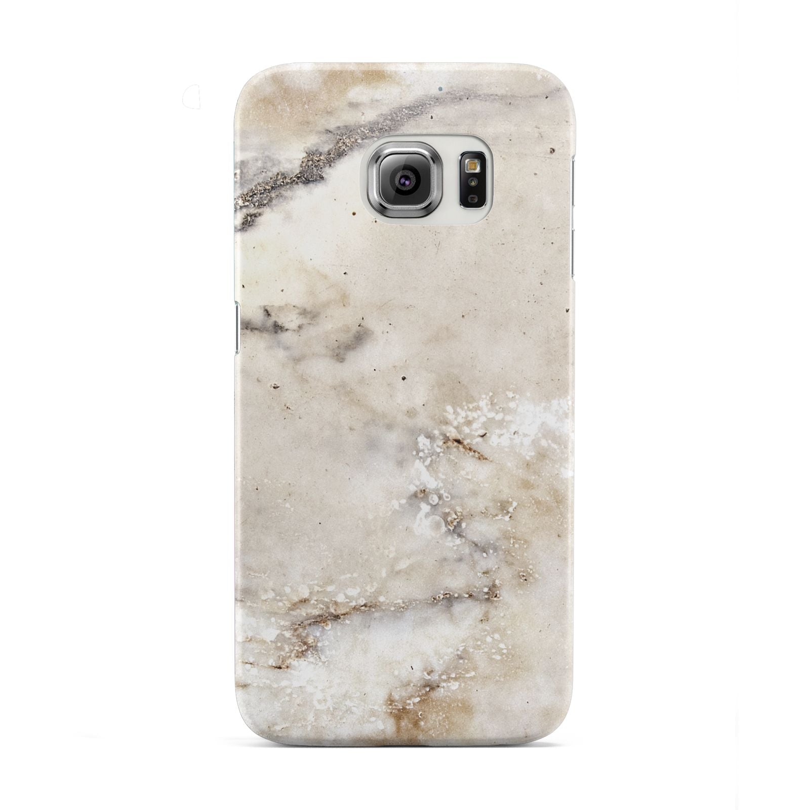 Faux Marble Effect Print Samsung Galaxy S6 Edge Case