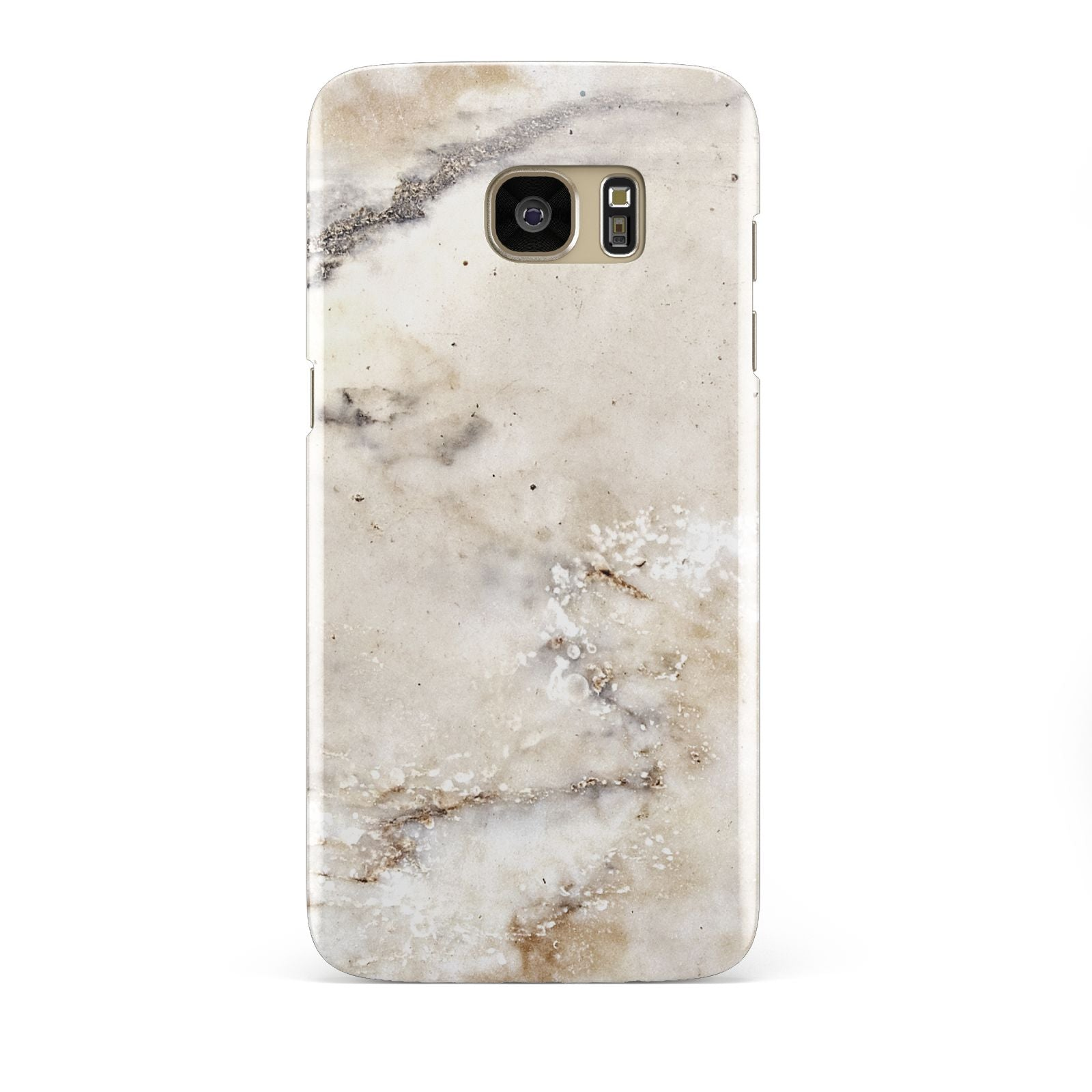 Faux Marble Effect Print Samsung Galaxy S7 Edge Case