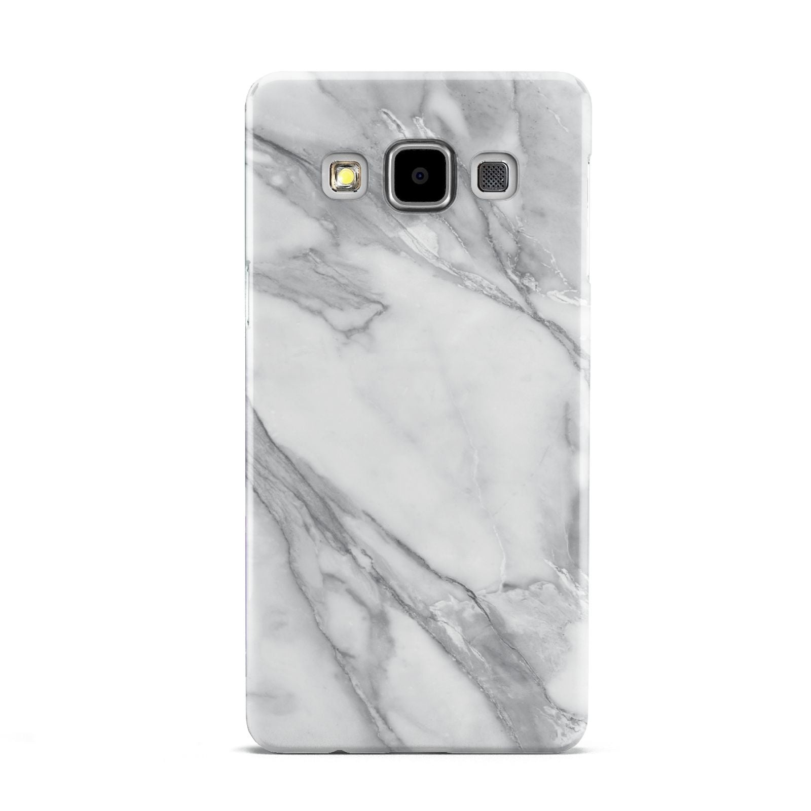 Faux Marble Effect White Grey Samsung Galaxy A5 Case