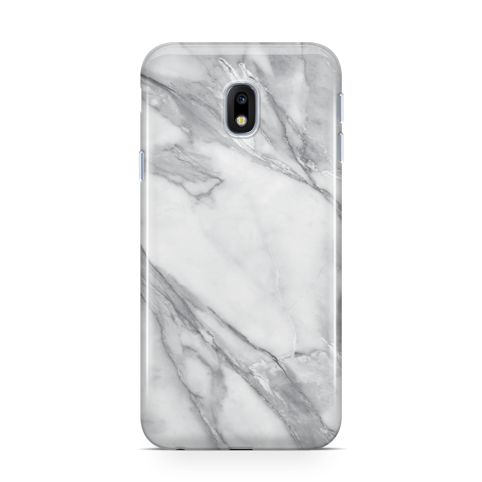 Faux Marble Effect White Grey Samsung Galaxy J3 2017 Case