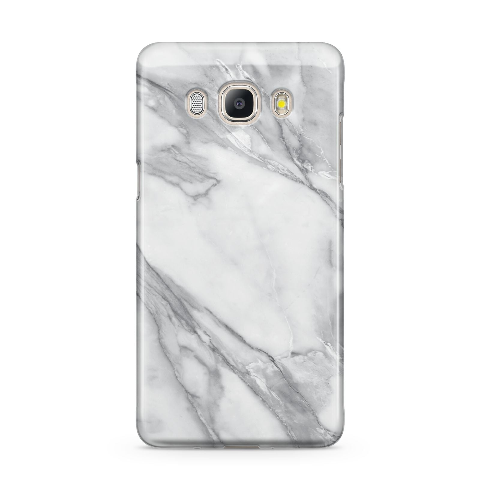 Faux Marble Effect White Grey Samsung Galaxy J5 2016 Case