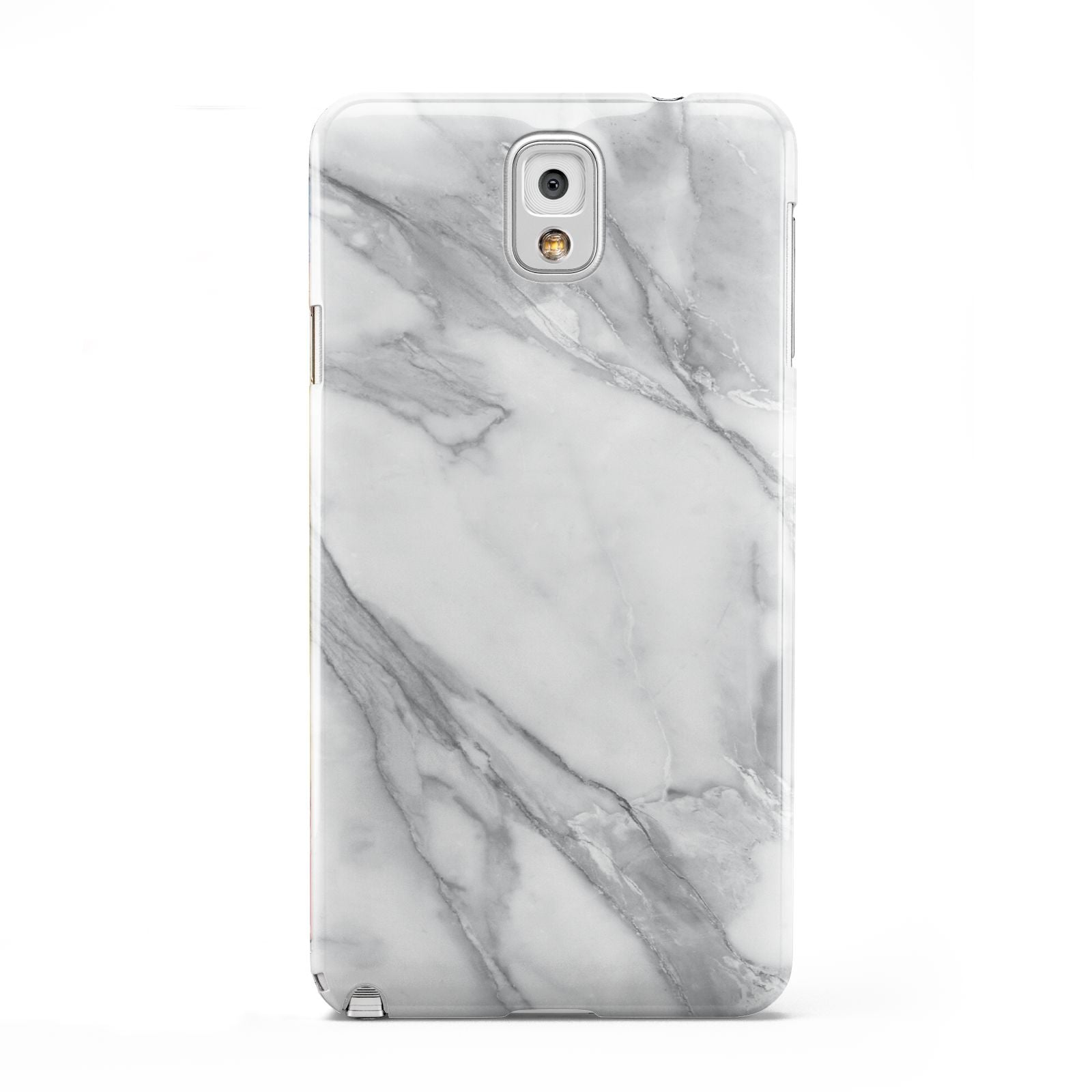 Faux Marble Effect White Grey Samsung Galaxy Note 3 Case