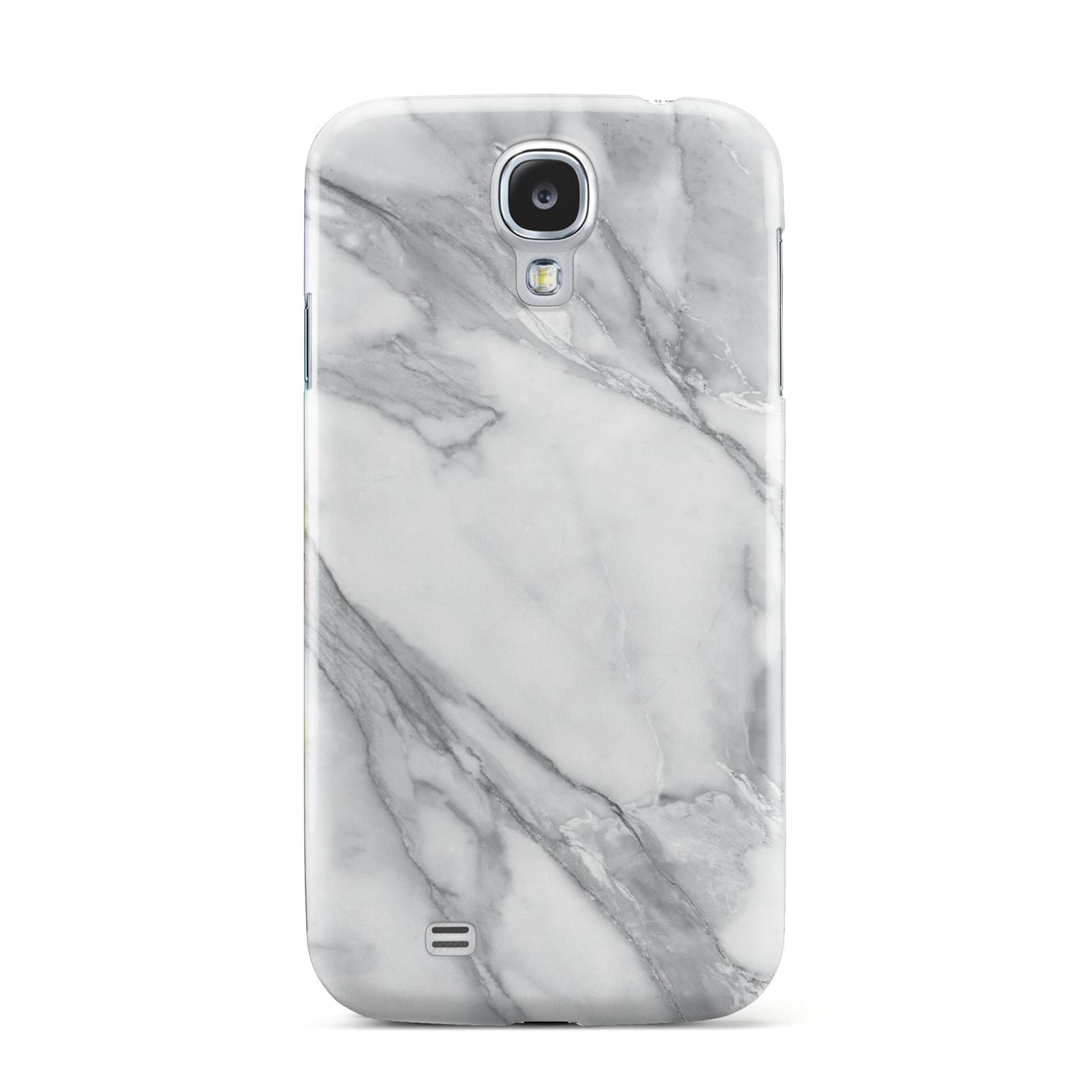 Faux Marble Effect White Grey Samsung Galaxy S4 Case