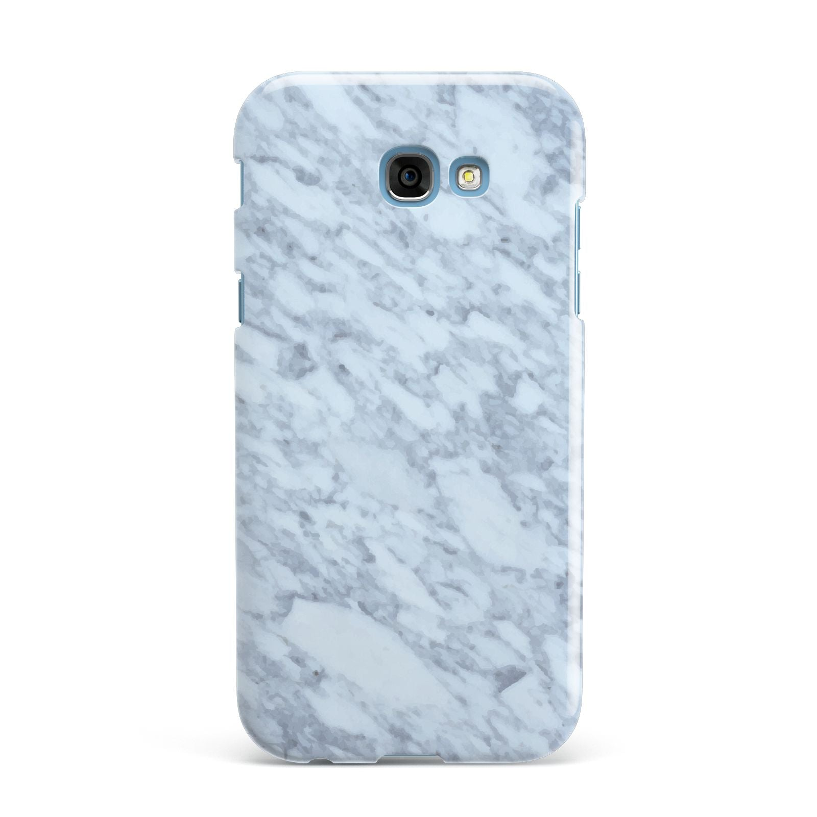 Faux Marble Grey 2 Samsung Galaxy A7 2017 Case