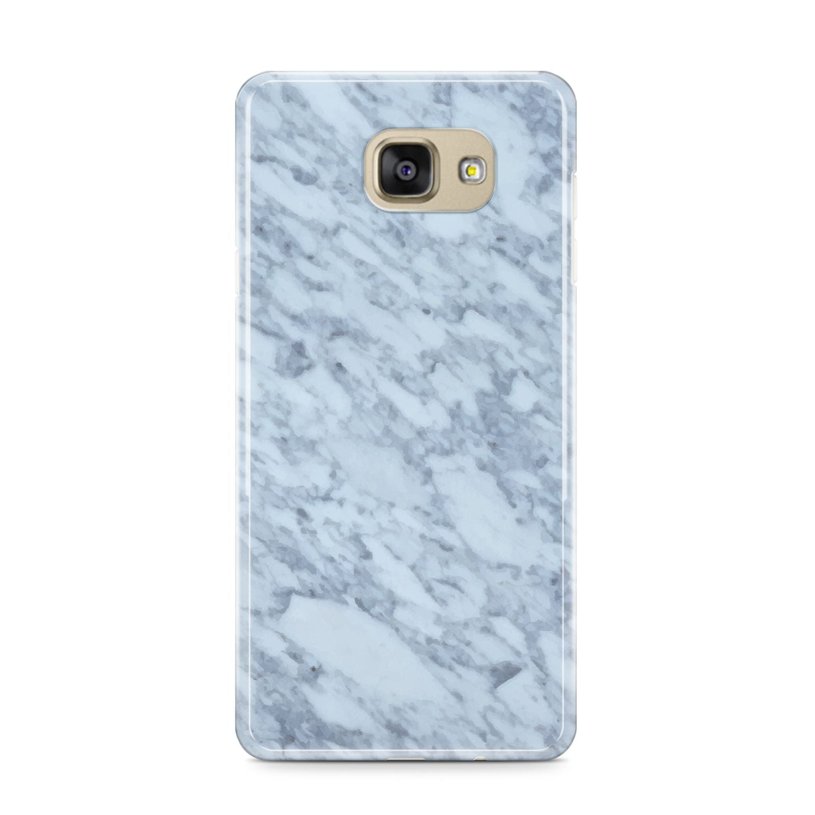 Faux Marble Grey 2 Samsung Galaxy A9 2016 Case on gold phone