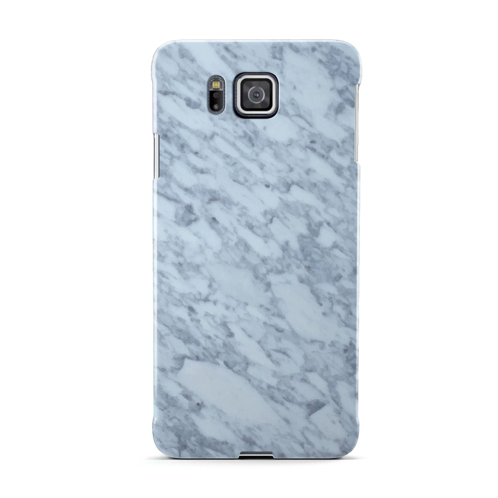 Faux Marble Grey 2 Samsung Galaxy Alpha Case