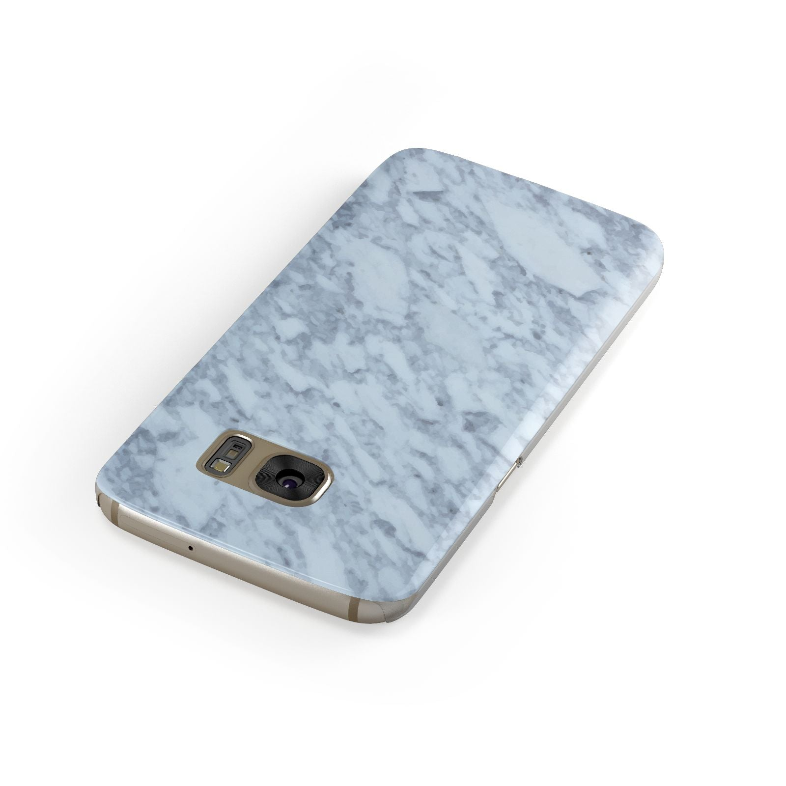 Faux Marble Grey 2 Samsung Galaxy Case Front Close Up