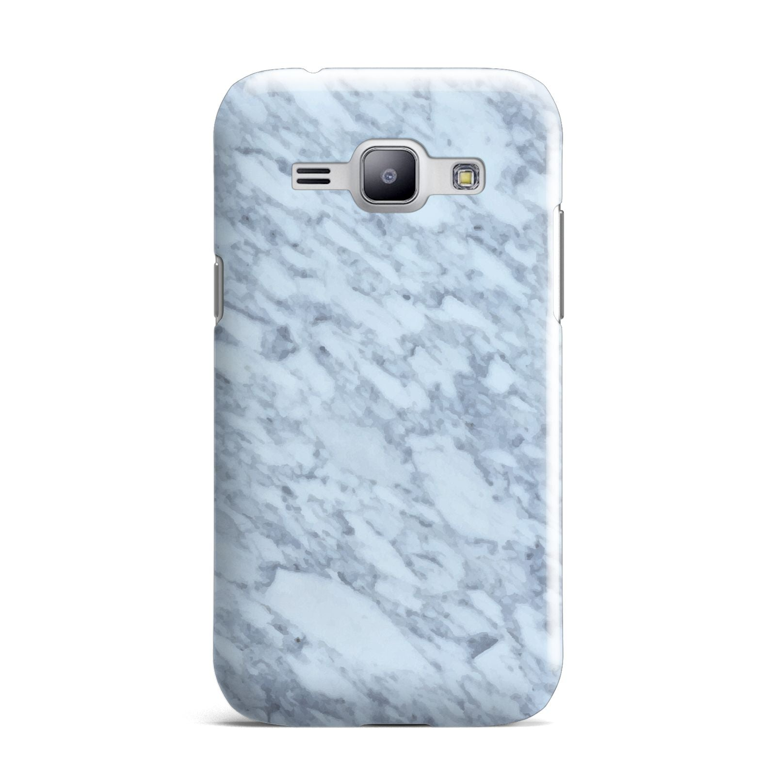 Faux Marble Grey 2 Samsung Galaxy J1 2015 Case