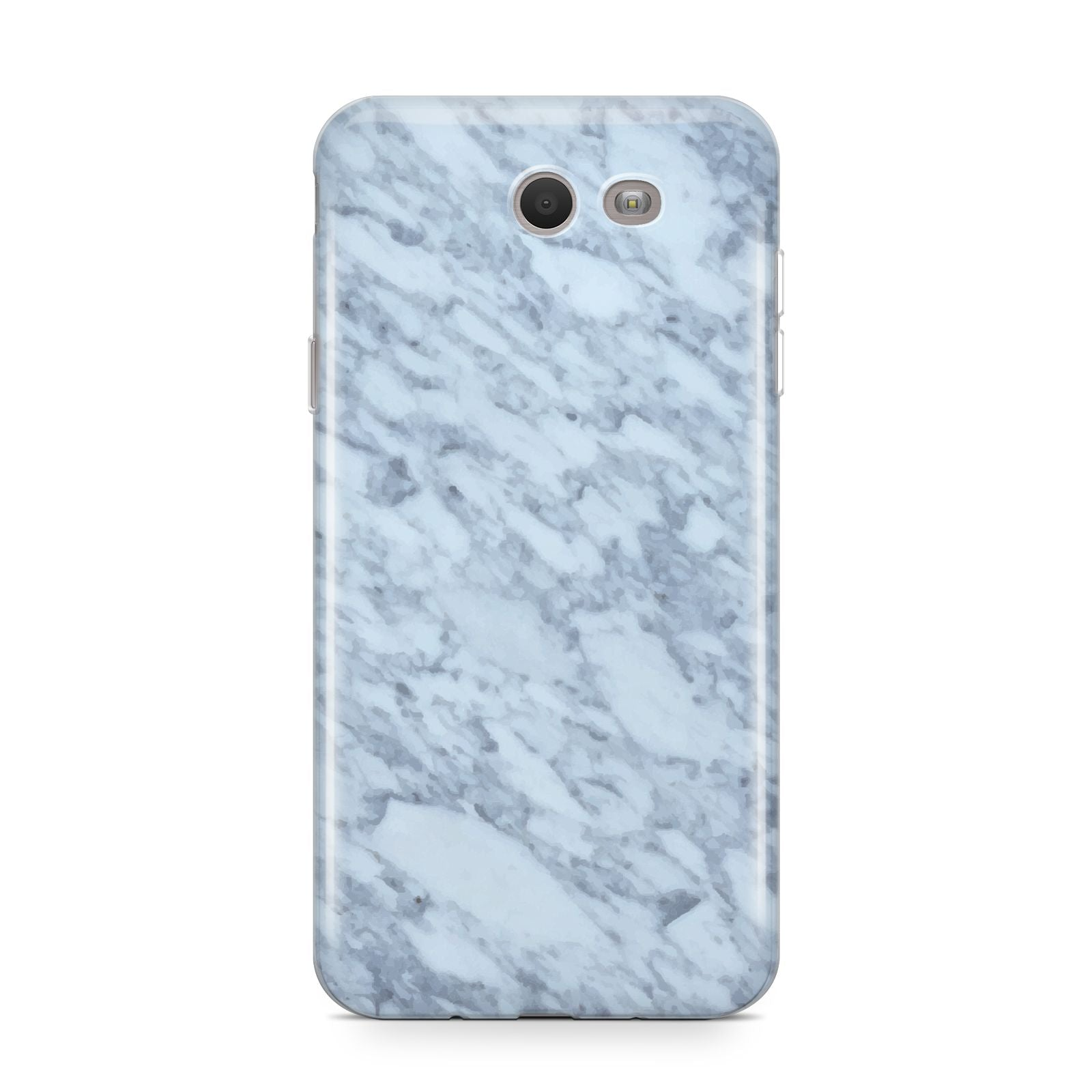 Faux Marble Grey 2 Samsung Galaxy J7 2017 Case