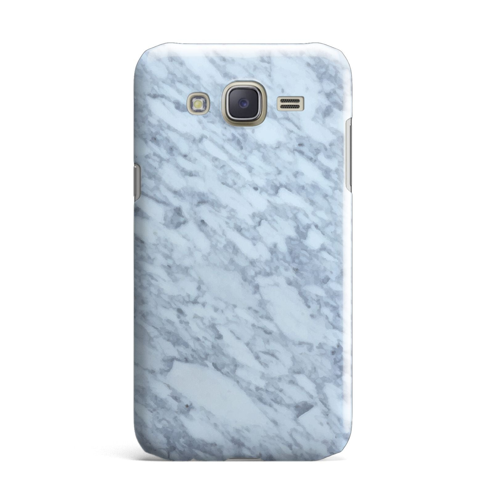 Faux Marble Grey 2 Samsung Galaxy J7 Case