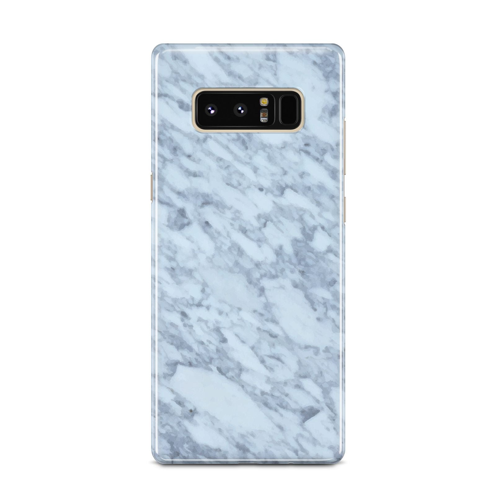 Faux Marble Grey 2 Samsung Galaxy Note 8 Case