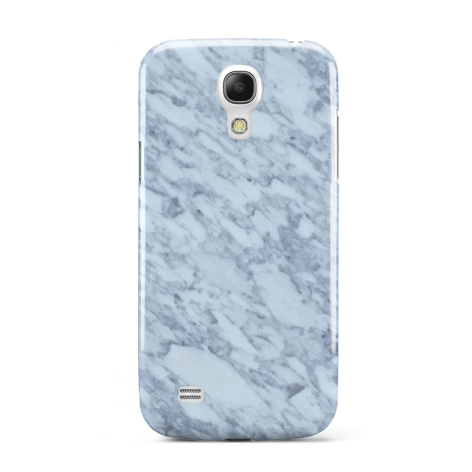 Faux Marble Grey 2 Samsung Galaxy S4 Mini Case