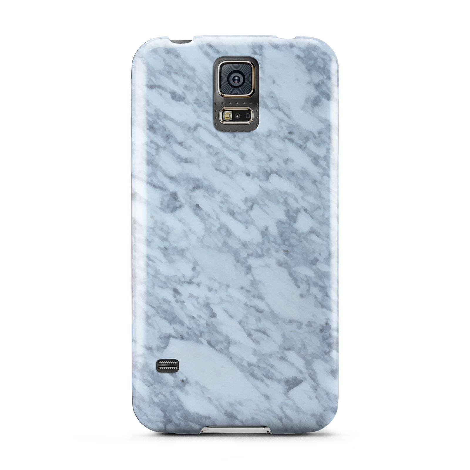 Faux Marble Grey 2 Samsung Galaxy S5 Case