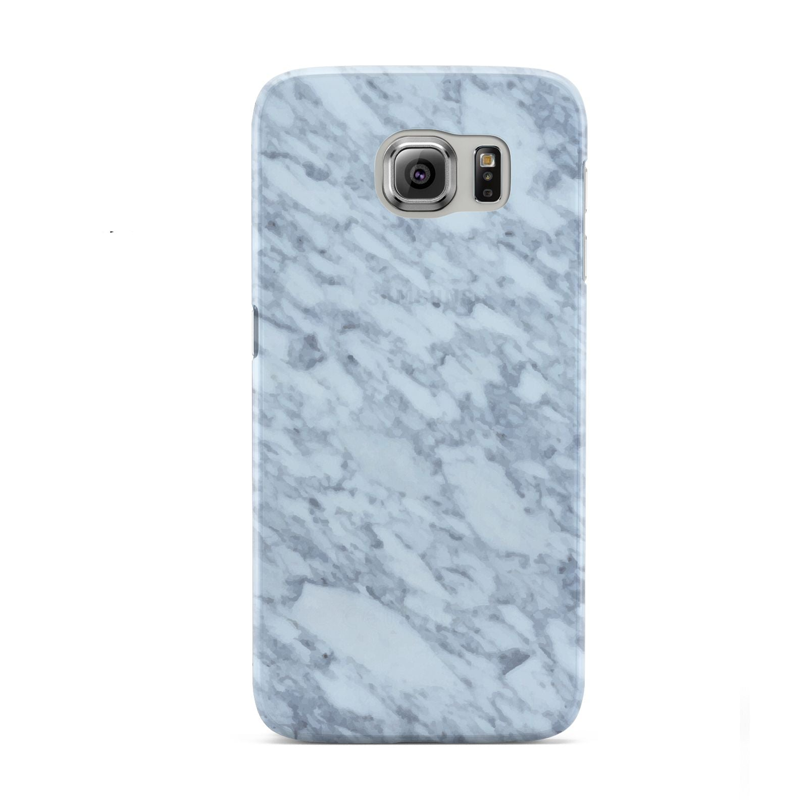 Faux Marble Grey 2 Samsung Galaxy S6 Case