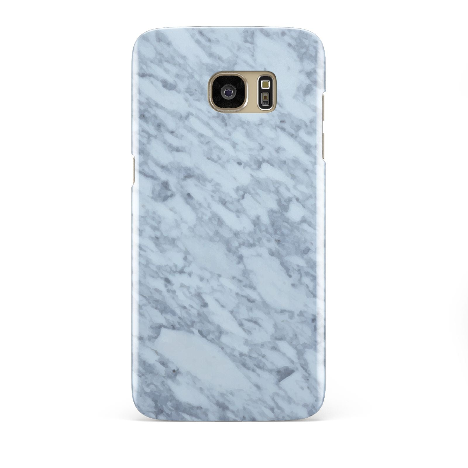 Faux Marble Grey 2 Samsung Galaxy S7 Edge Case