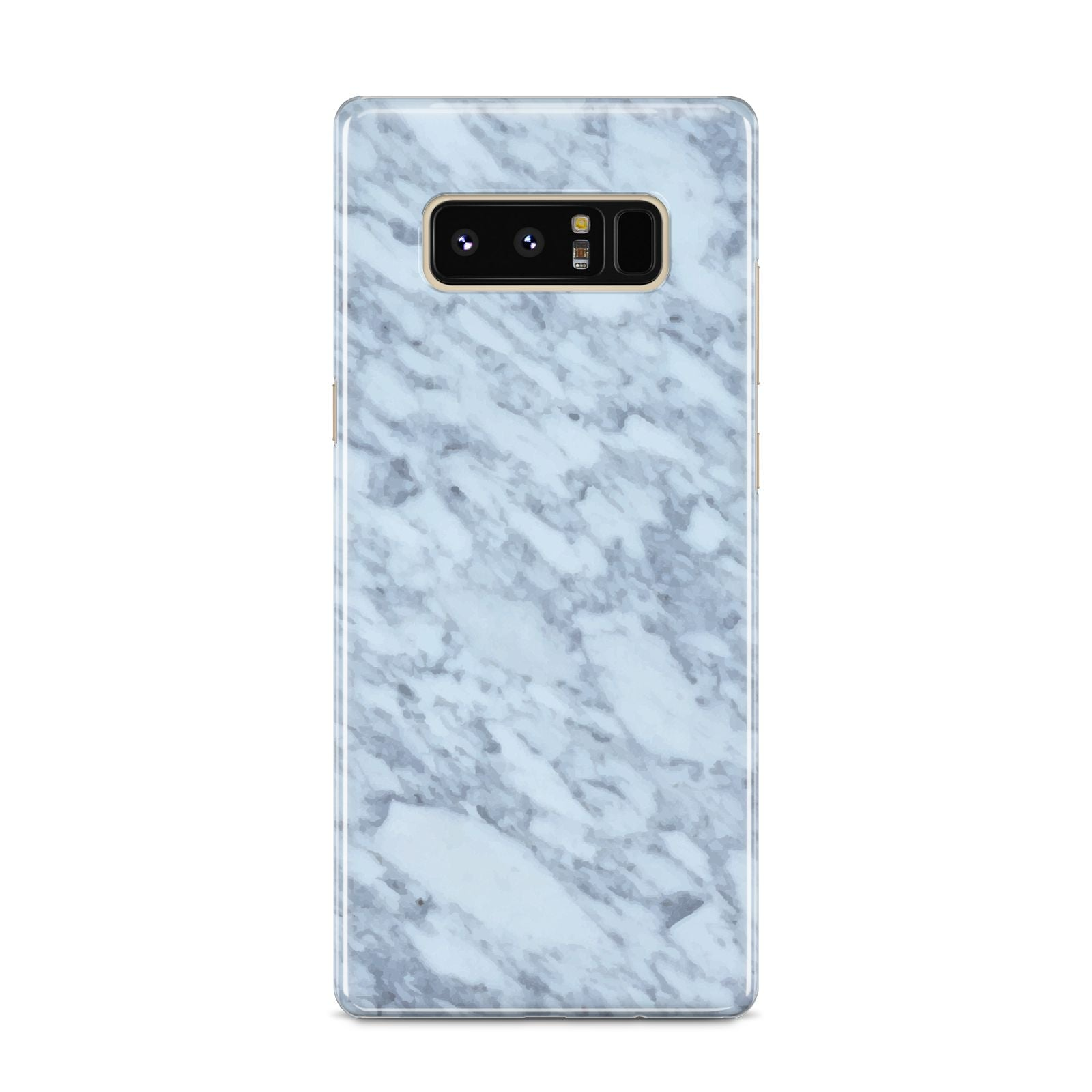 Faux Marble Grey 2 Samsung Galaxy S8 Case