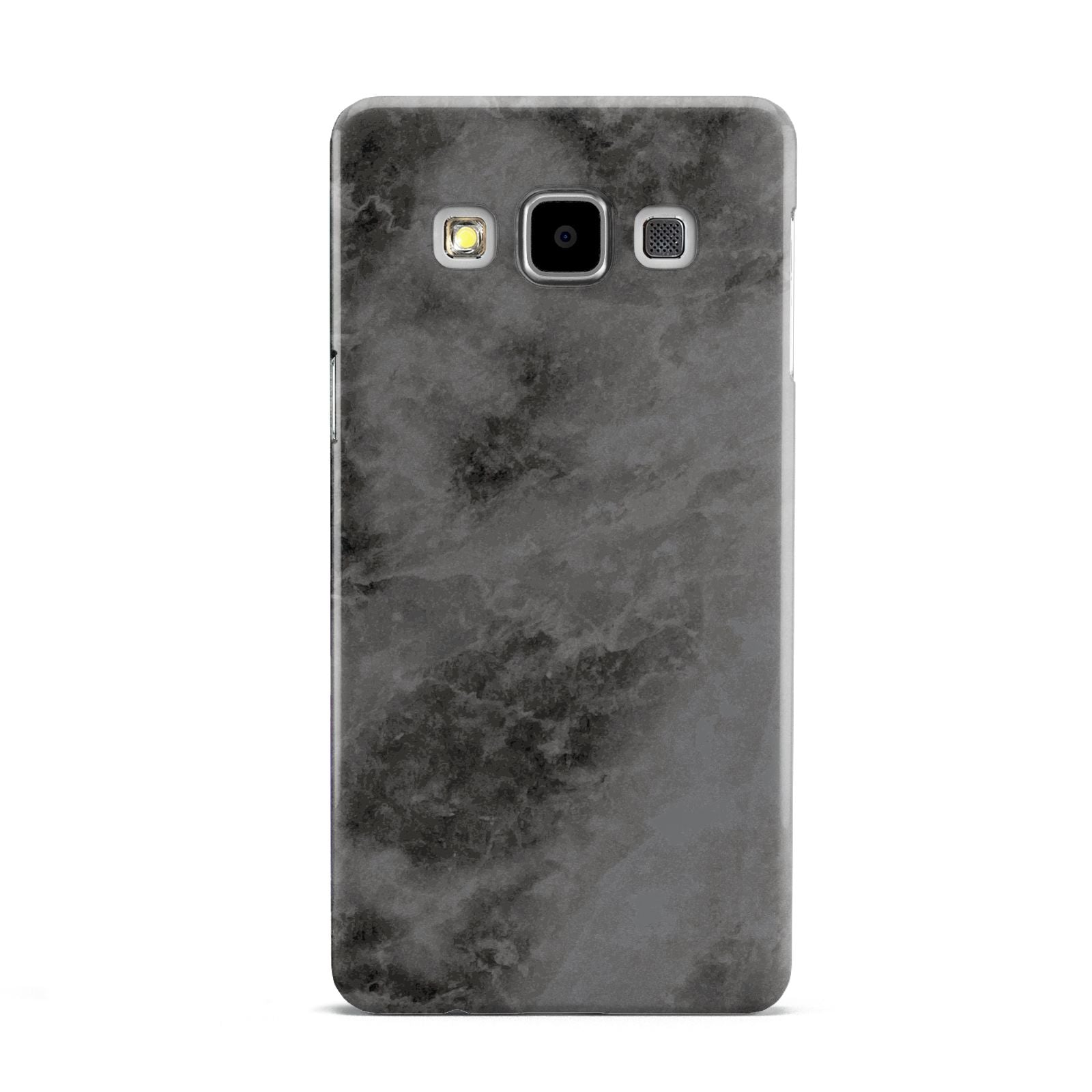 Faux Marble Grey Black Samsung Galaxy A5 Case