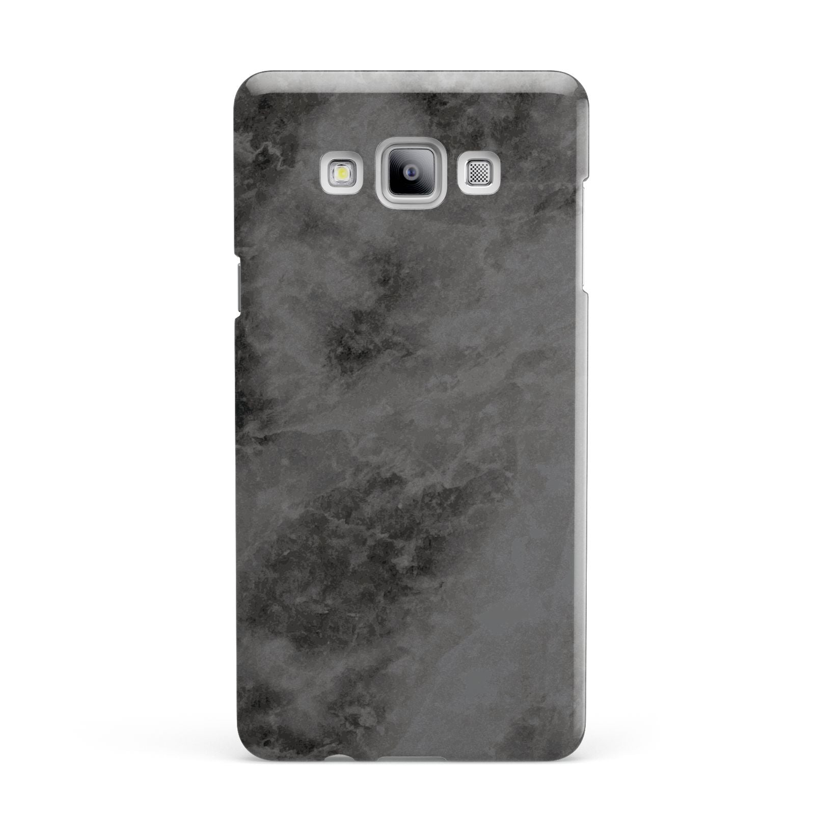 Faux Marble Grey Black Samsung Galaxy A7 2015 Case