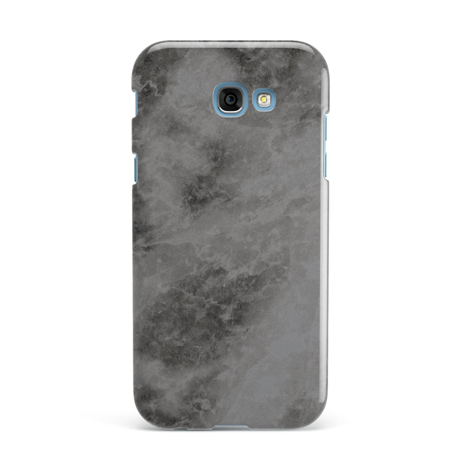 Faux Marble Grey Black Samsung Galaxy A7 2017 Case