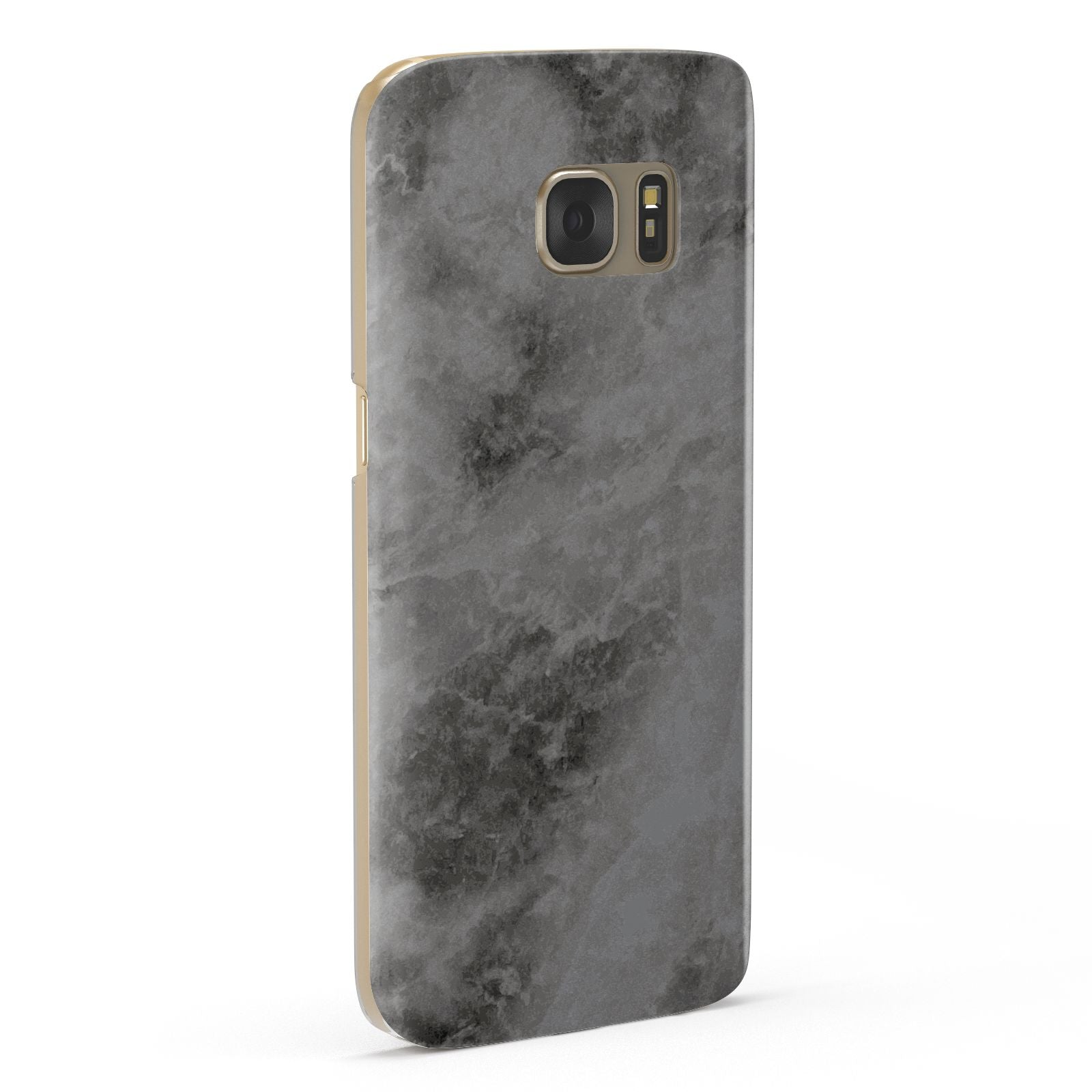 Faux Marble Grey Black Samsung Galaxy Case Fourty Five Degrees