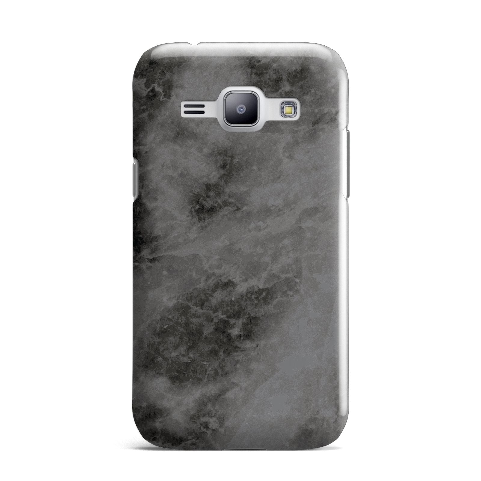 Faux Marble Grey Black Samsung Galaxy J1 2015 Case