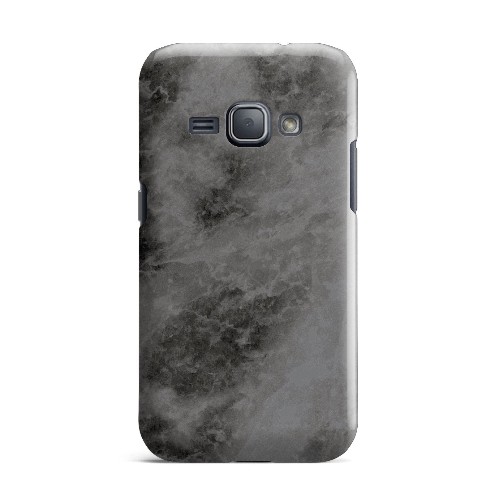 Faux Marble Grey Black Samsung Galaxy J1 2016 Case