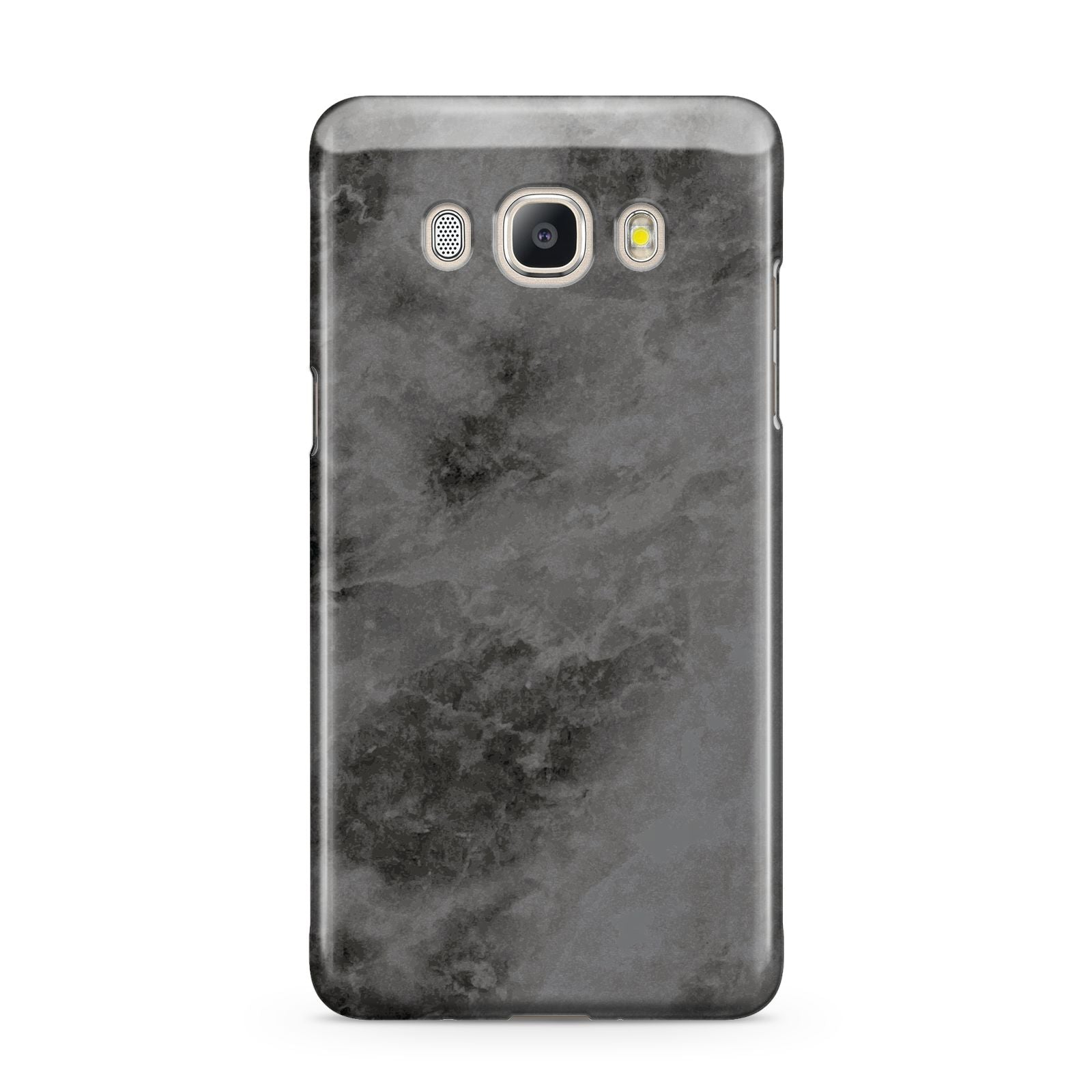 Faux Marble Grey Black Samsung Galaxy J5 2016 Case